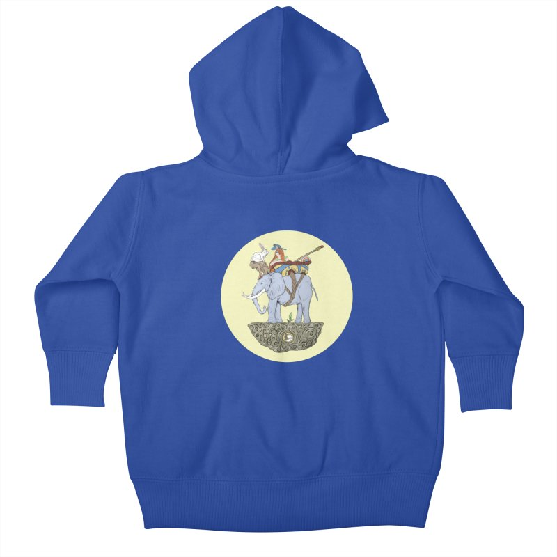 Friendship  Kids Baby Zip-Up Hoody by Manaburn's Artist Shop