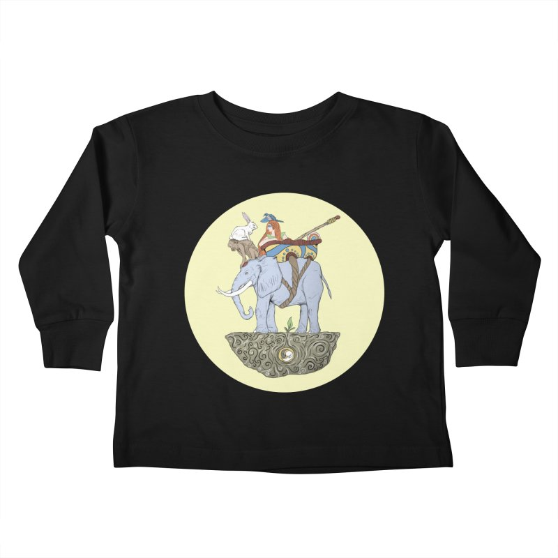 Friendship  Kids Toddler Longsleeve T-Shirt by Manaburn's Artist Shop