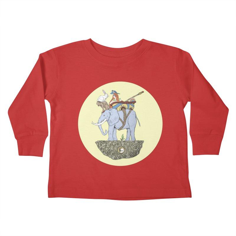 Friendship  Kids Toddler Longsleeve T-Shirt by Manaburn's Shop