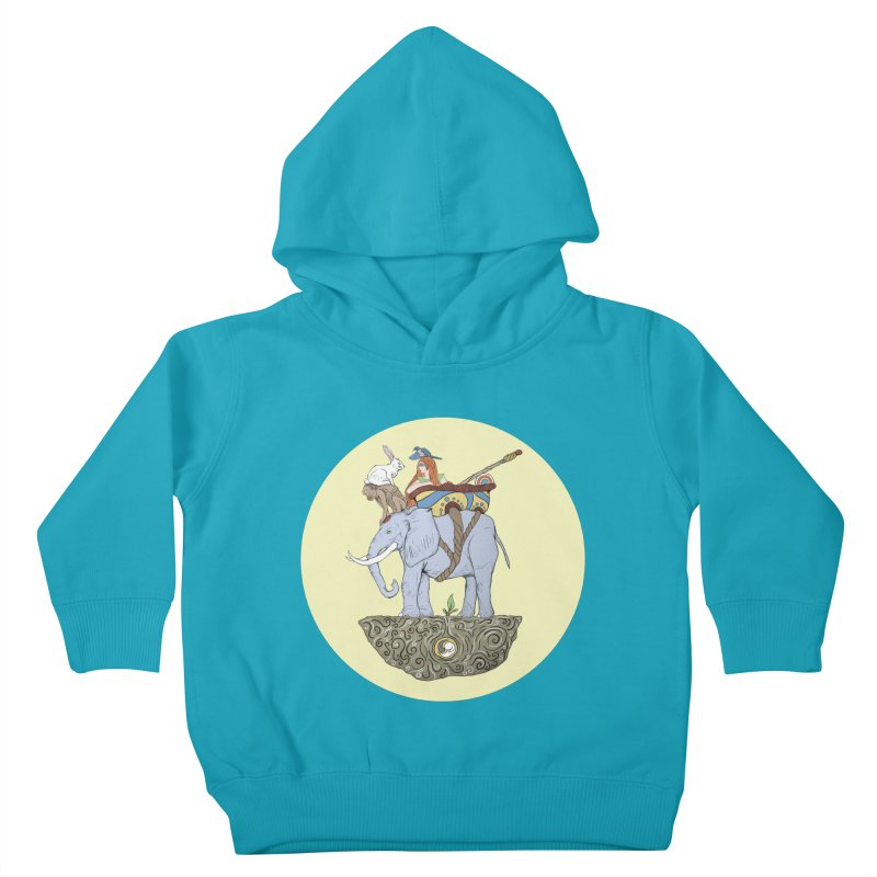 Friendship  Kids Toddler Pullover Hoody by Manaburn's Artist Shop