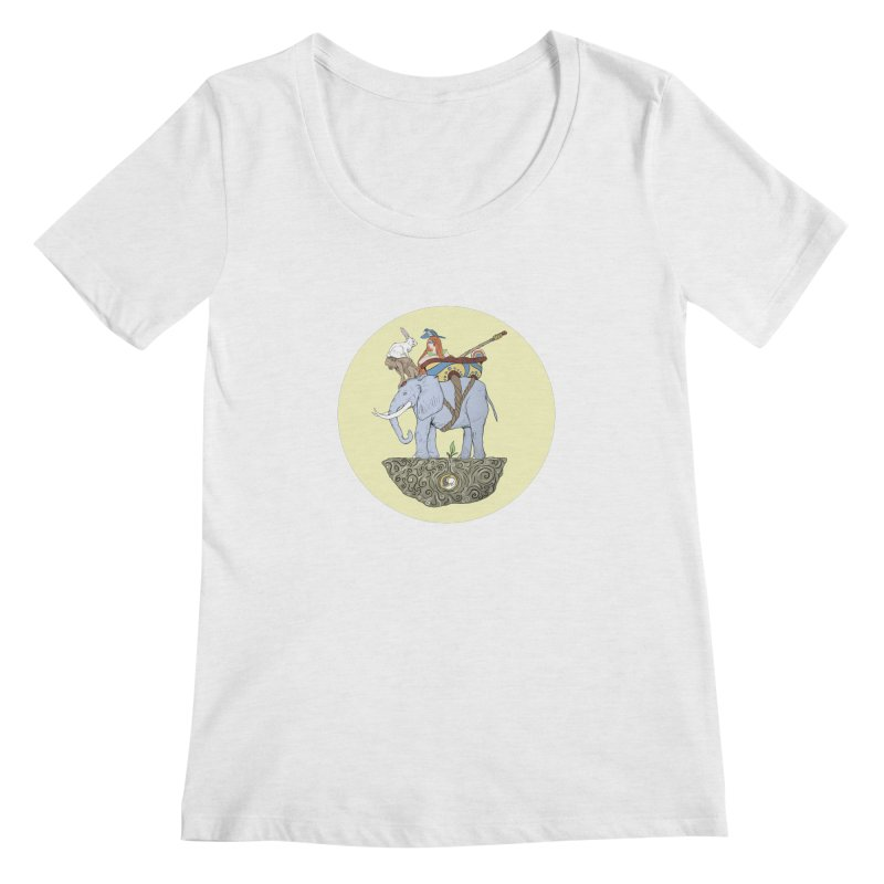 Friendship  Women's Regular Scoop Neck by Manaburn's Shop