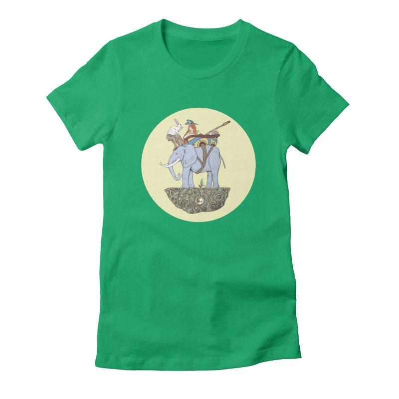 Friendship  Women's Fitted T-Shirt by Manaburn's Artist Shop