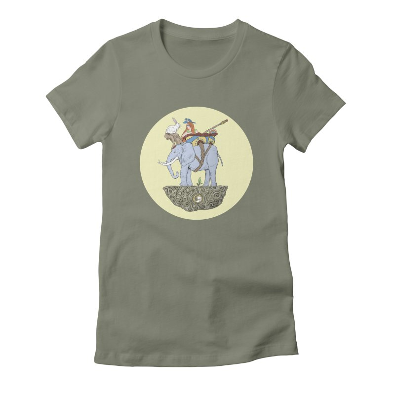 Friendship  Women's Fitted T-Shirt by Manaburn's Shop
