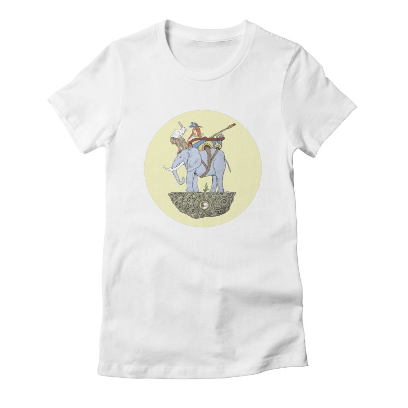 Friendship  Women's Fitted T-Shirt by Manaburn's Artist Shop