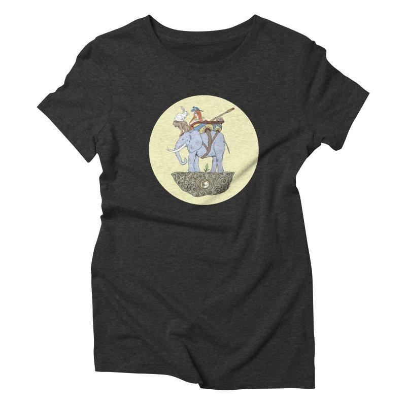 Friendship  Women's Triblend T-shirt by Manaburn's Artist Shop