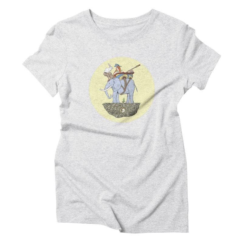 Friendship  Women's Triblend T-Shirt by Manaburn's Shop