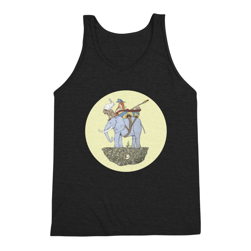 Friendship  Men's Triblend Tank by Manaburn's Shop