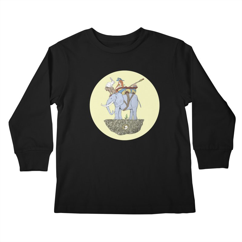 Friendship  Kids Longsleeve T-Shirt by Manaburn's Shop