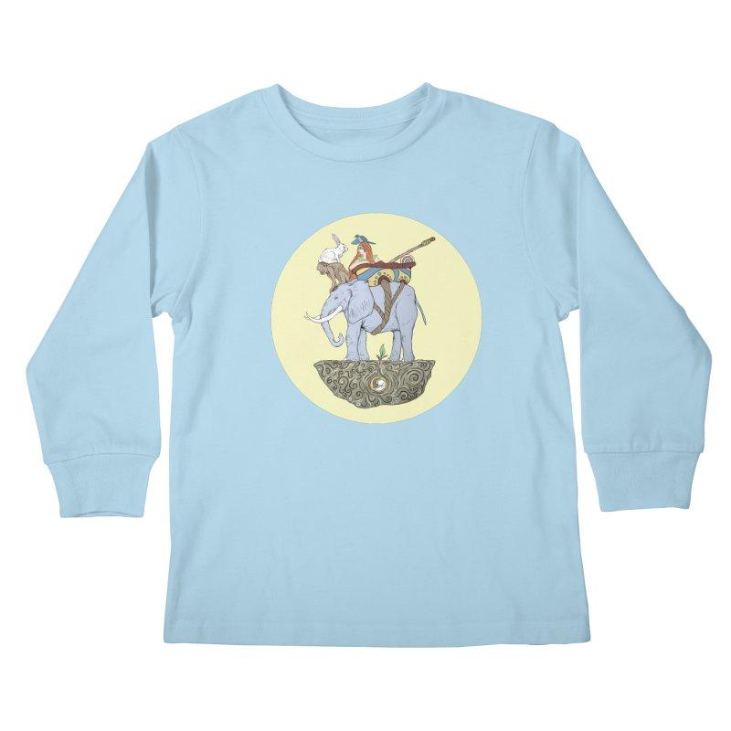 Friendship  Kids Longsleeve T-Shirt by Manaburn's Artist Shop