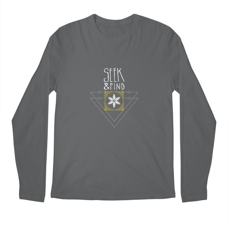 Seek & Find Men's Regular Longsleeve T-Shirt by Manaburn's Shop