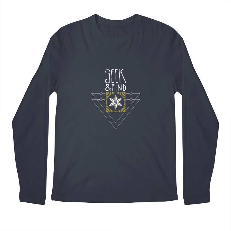 Seek & Find Men's Longsleeve T-Shirt by Manaburn's Shop