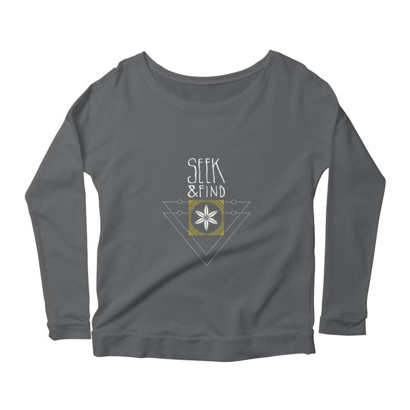 Seek & Find Women's Longsleeve T-Shirt by Manaburn's Shop