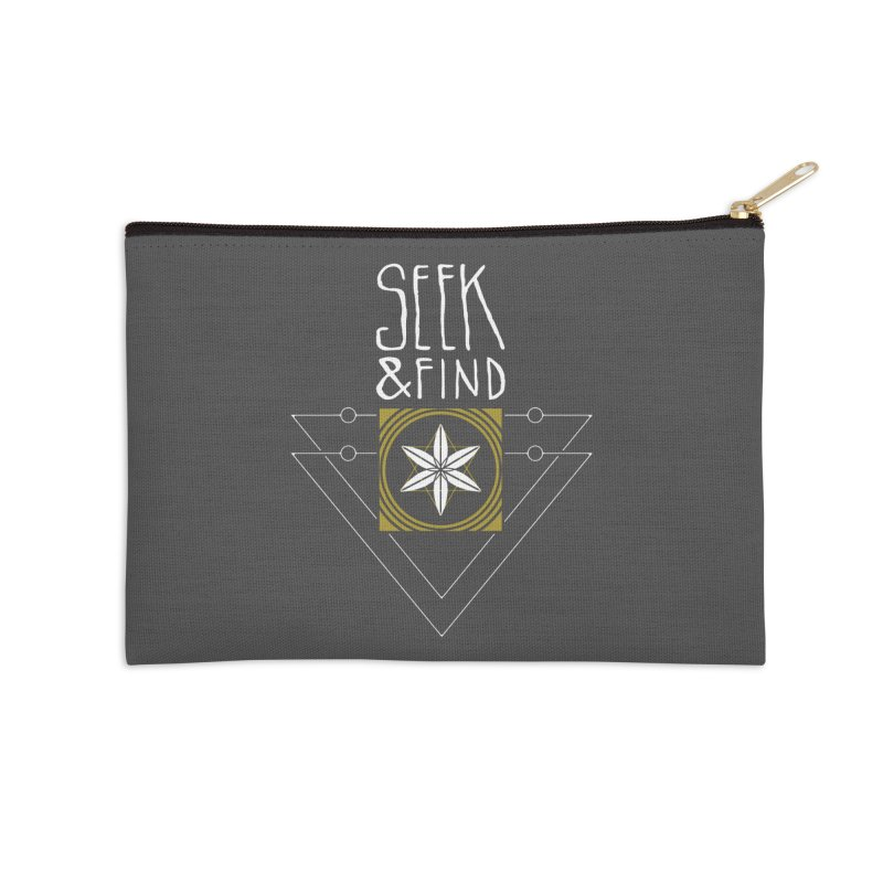 Seek & Find Accessories Zip Pouch by Manaburn's Artist Shop