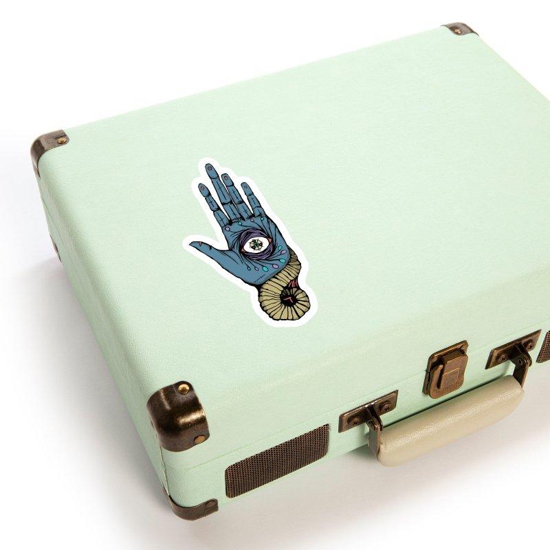 Hand of Visus Accessories Sticker by Manaburn's Shop