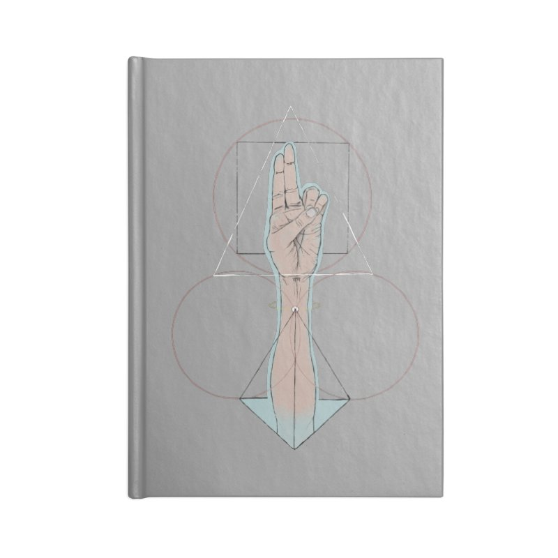 Prana Accessories Lined Journal Notebook by Manaburn's Shop