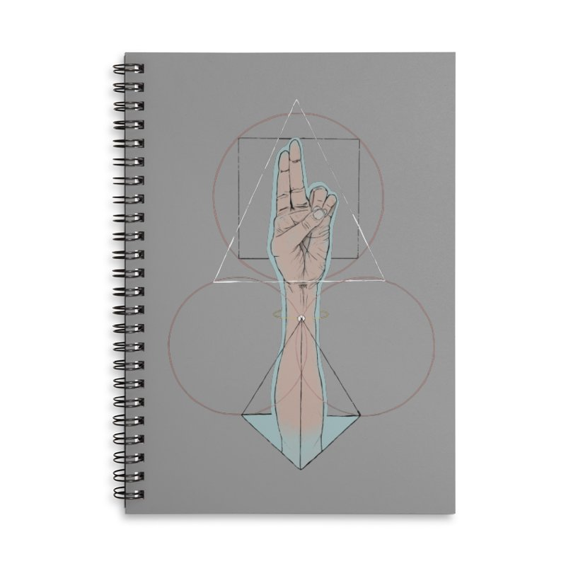 Prana Accessories Lined Spiral Notebook by Manaburn's Shop