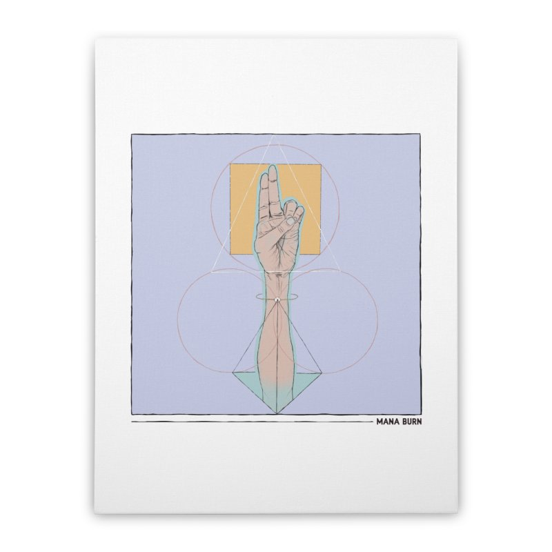 Prana Home Stretched Canvas by Manaburn's Shop