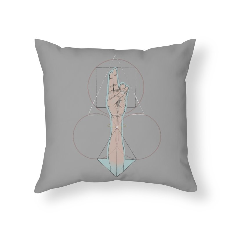 Prana Home Throw Pillow by Manaburn's Shop