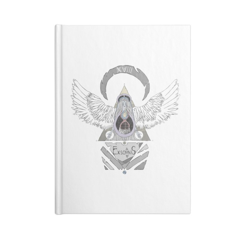 Exomnis Accessories Lined Journal Notebook by Manaburn's Shop