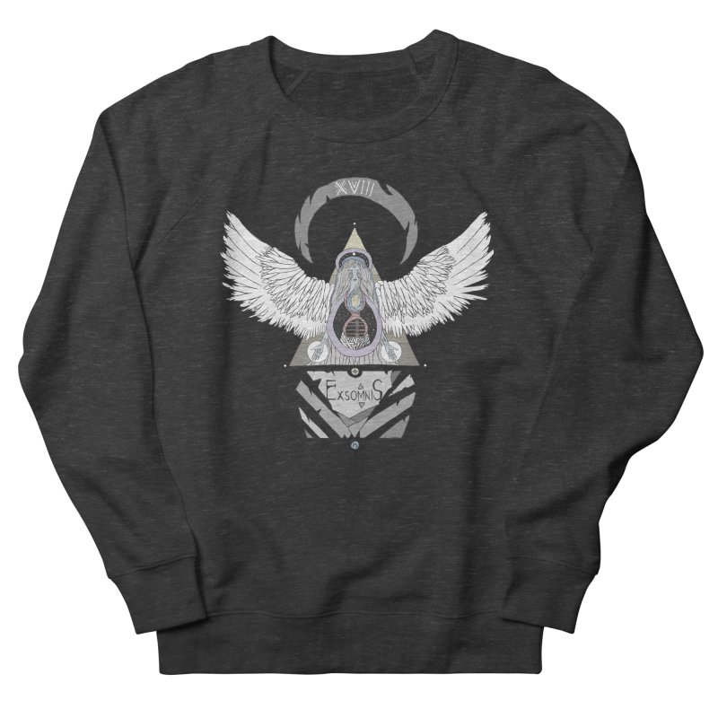 Exomnis Men's French Terry Sweatshirt by Manaburn's Shop