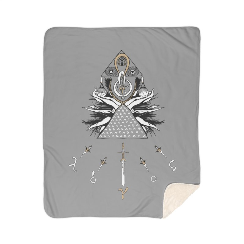 Gnosis Home Sherpa Blanket Blanket by Manaburn's Shop