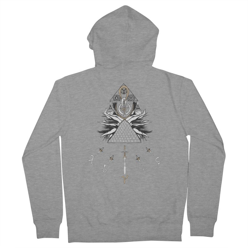 Gnosis Men's French Terry Zip-Up Hoody by Manaburn's Shop