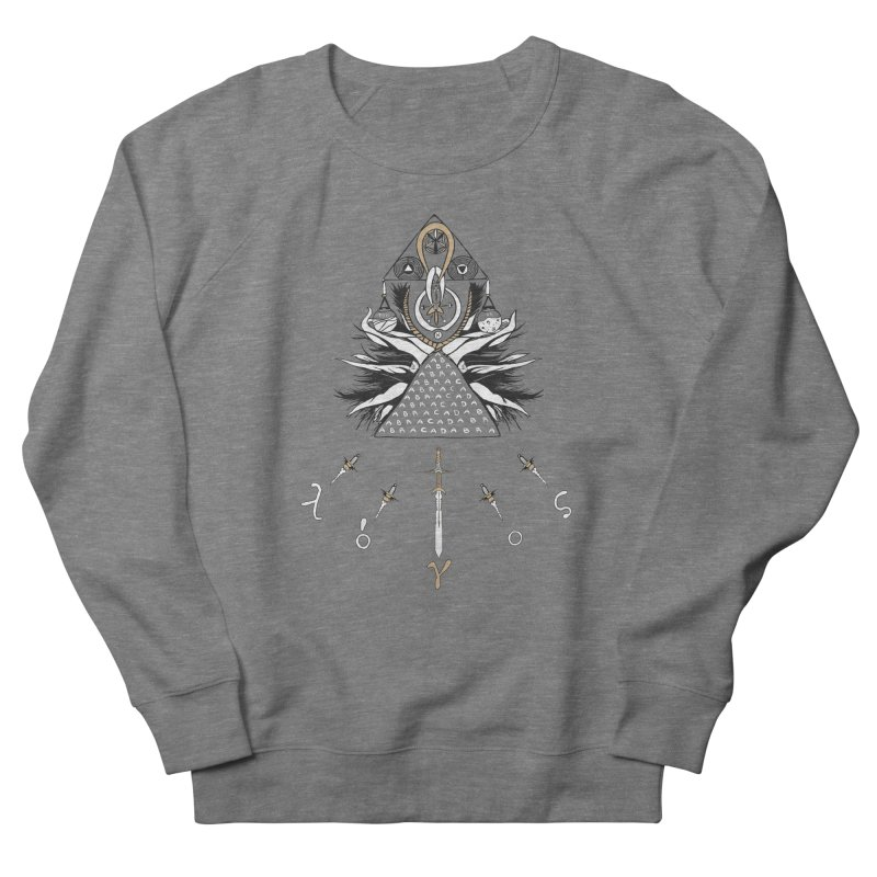 Gnosis Women's French Terry Sweatshirt by Manaburn's Shop