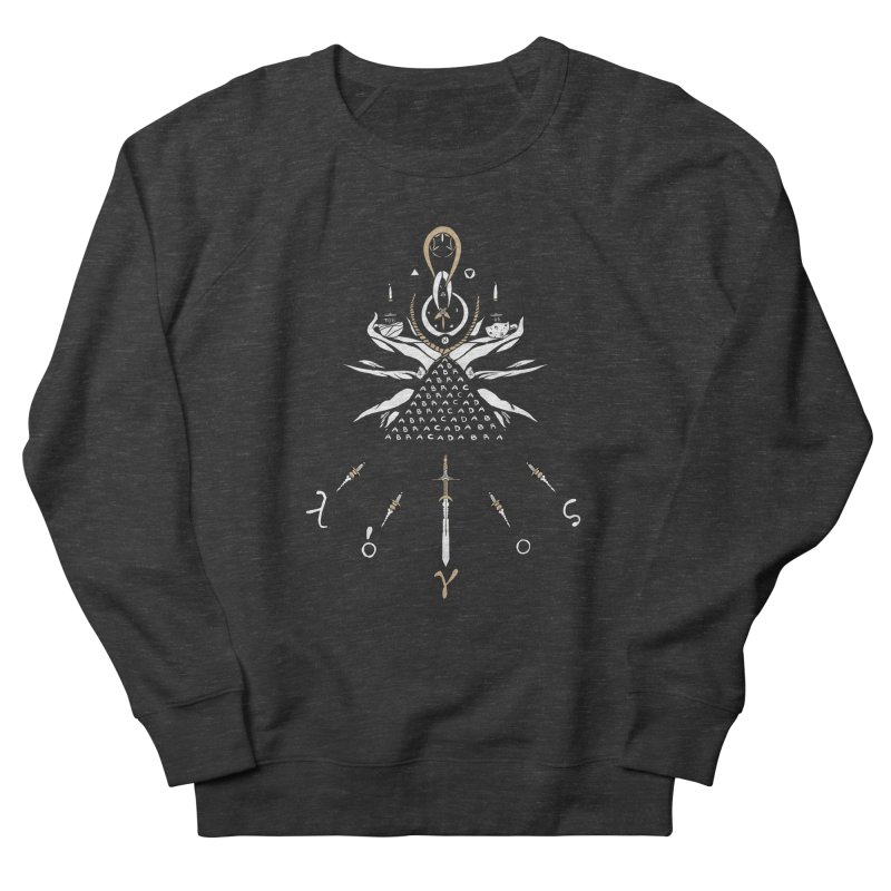Gnosis Men's French Terry Sweatshirt by Manaburn's Shop
