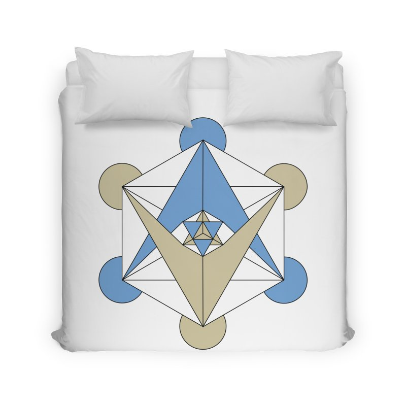 Meta Home Duvet by Manaburn's Artist Shop
