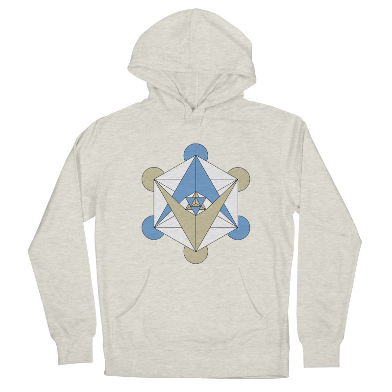 Meta Men's French Terry Pullover Hoody by Manaburn's Shop