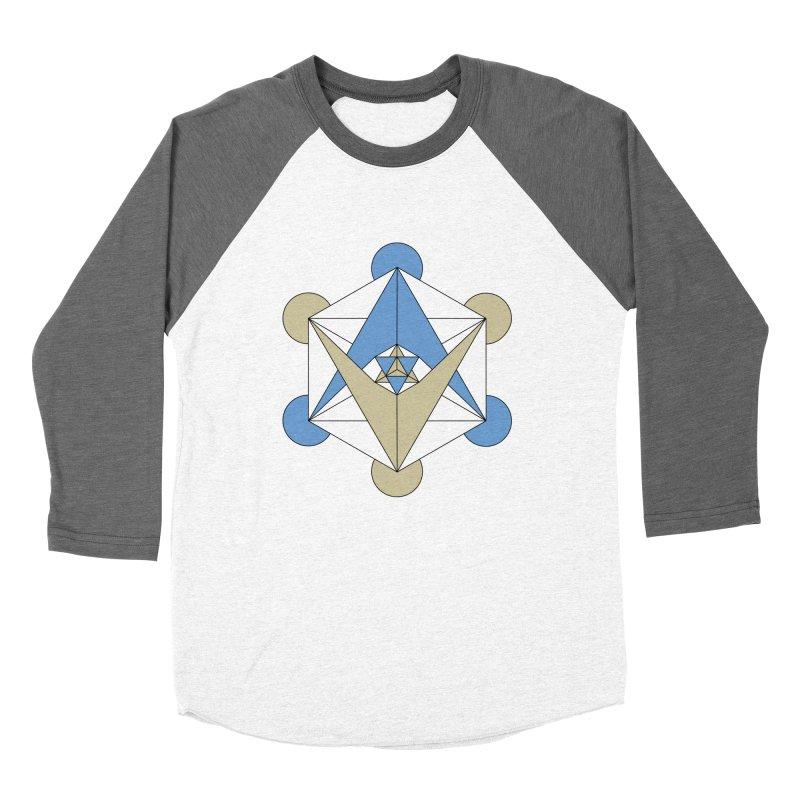 Meta Women's Baseball Triblend Longsleeve T-Shirt by Manaburn's Shop