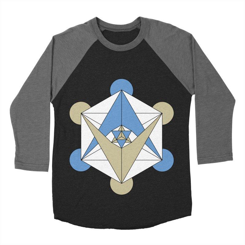 Meta Men's Baseball Triblend T-Shirt by Manaburn's Artist Shop