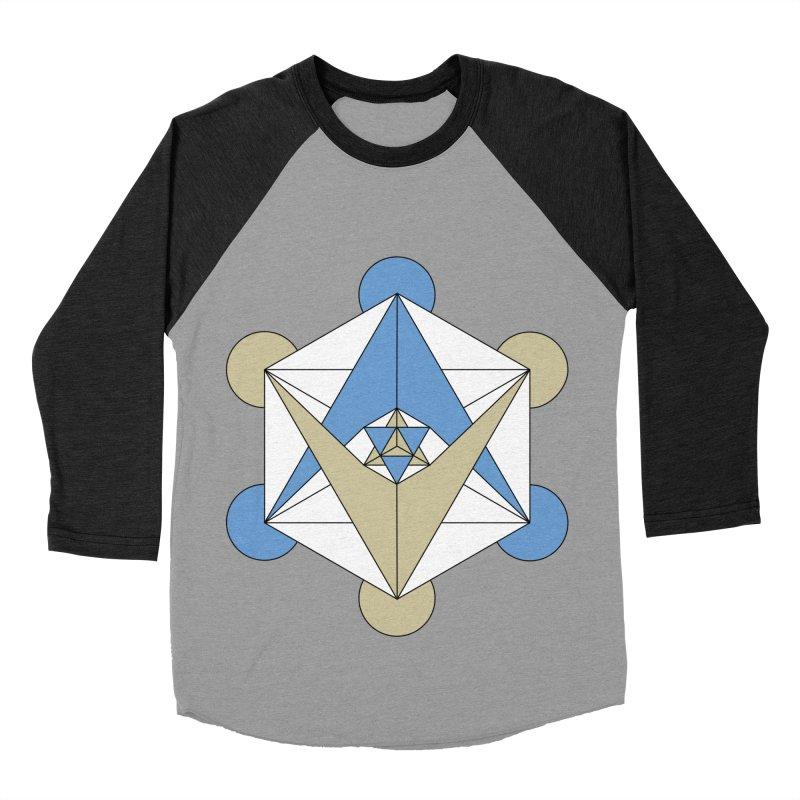 Meta Men's Baseball Triblend Longsleeve T-Shirt by Manaburn's Shop