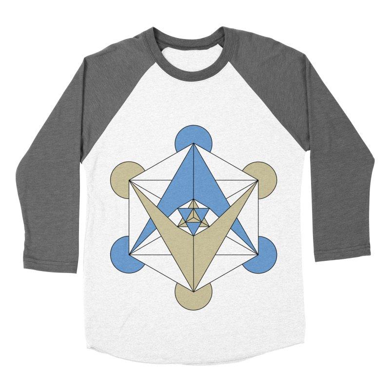 Meta Men's Baseball Triblend T-Shirt by Manaburn's Shop