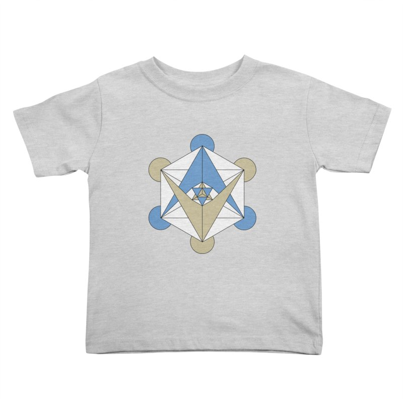 Meta Kids Toddler T-Shirt by Manaburn's Artist Shop