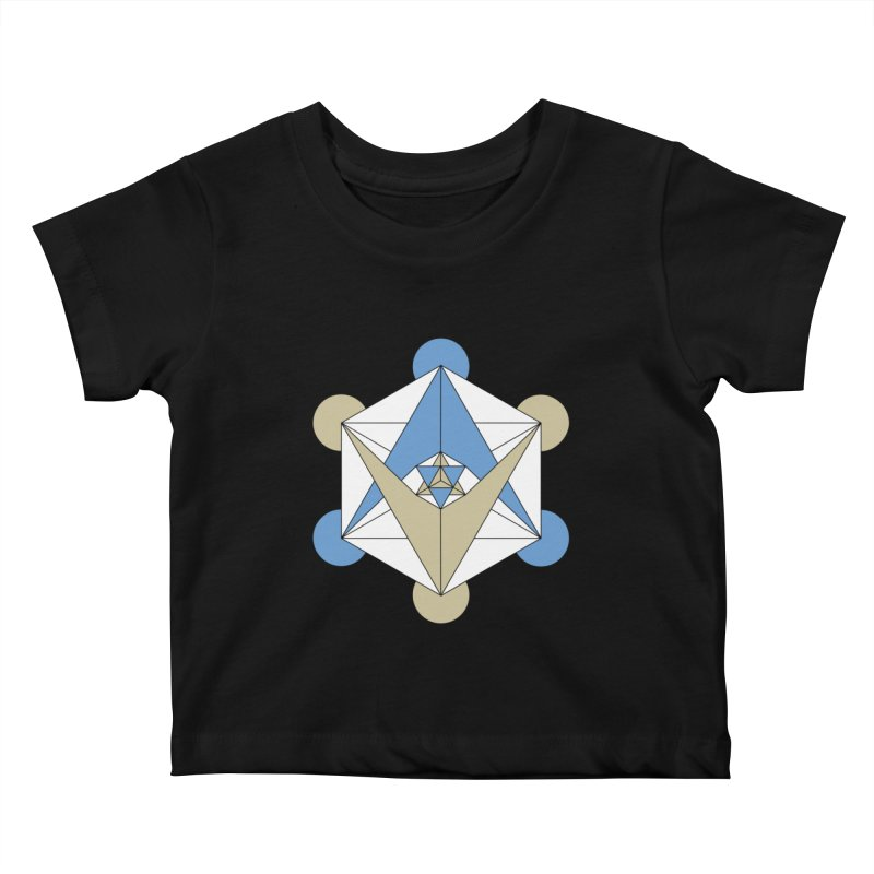 Meta Kids Baby T-Shirt by Manaburn's Shop