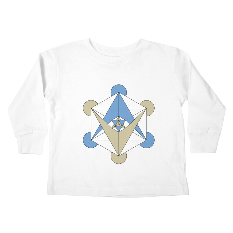 Meta Kids Toddler Longsleeve T-Shirt by Manaburn's Shop
