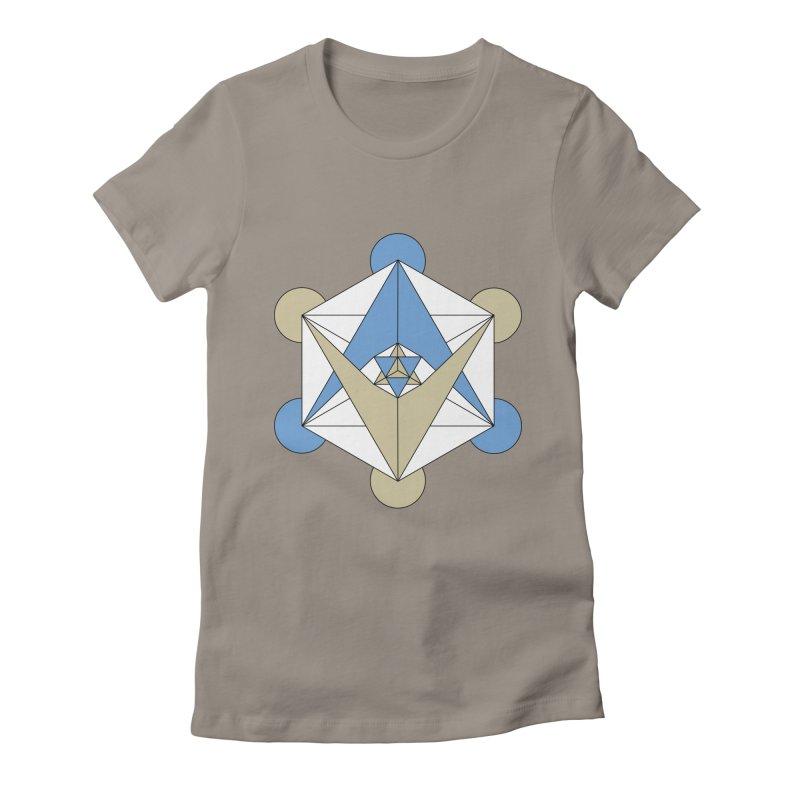 Meta Women's Fitted T-Shirt by Manaburn's Shop