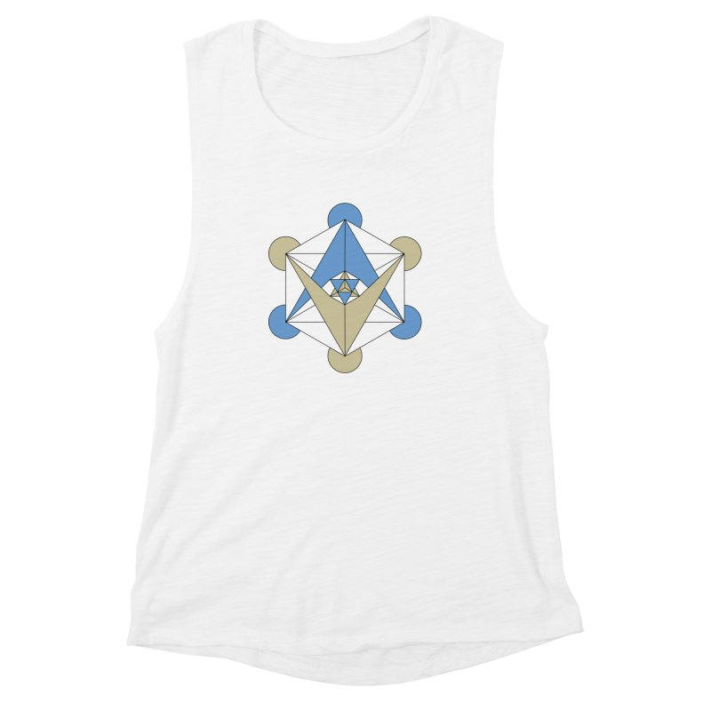 Meta Women's Muscle Tank by Manaburn's Artist Shop