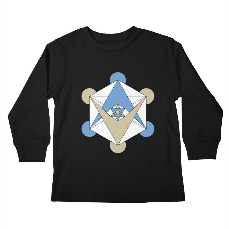 Meta Kids Longsleeve T-Shirt by Manaburn's Shop