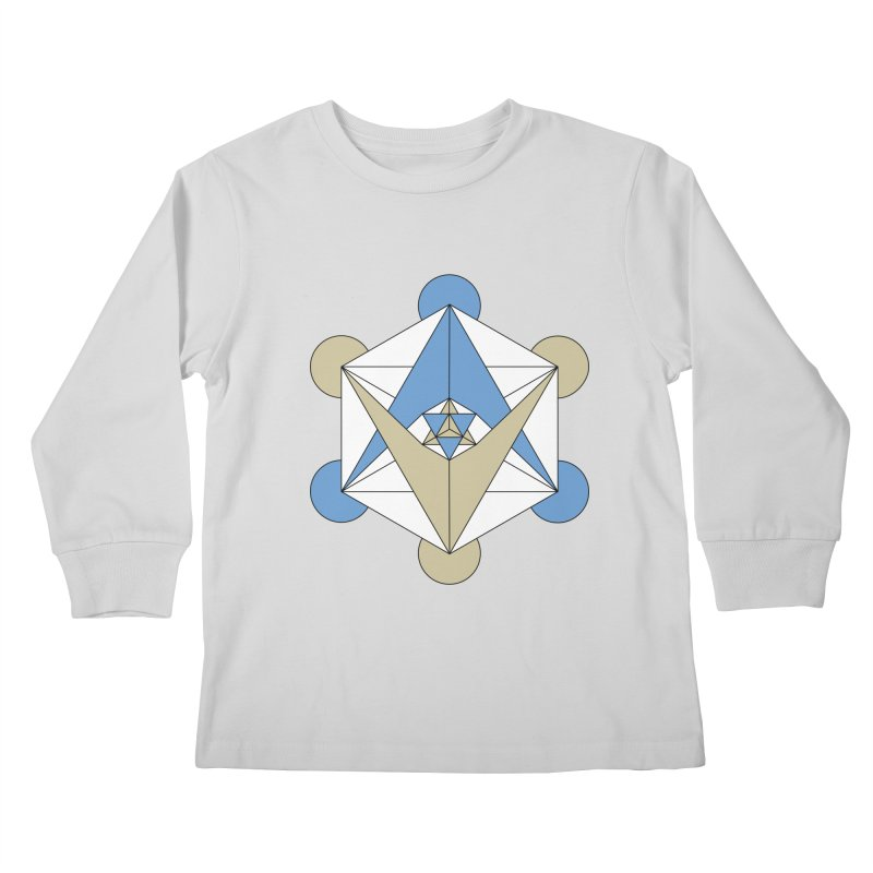 Meta Kids Longsleeve T-Shirt by Manaburn's Shop