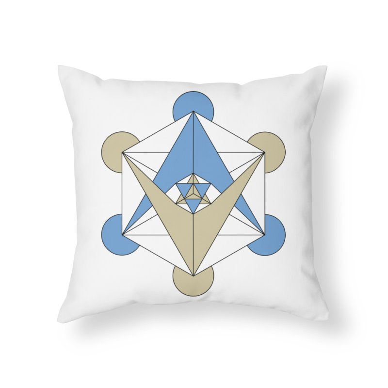 Meta Home Throw Pillow by Manaburn's Shop