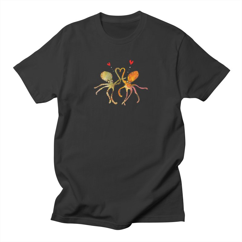 Underwater Love  Men's T-Shirt by mandascats's Shop