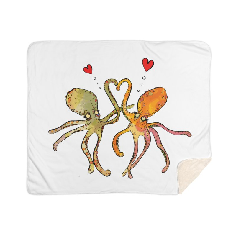 Underwater Love  Home Blanket by mandascats's Shop
