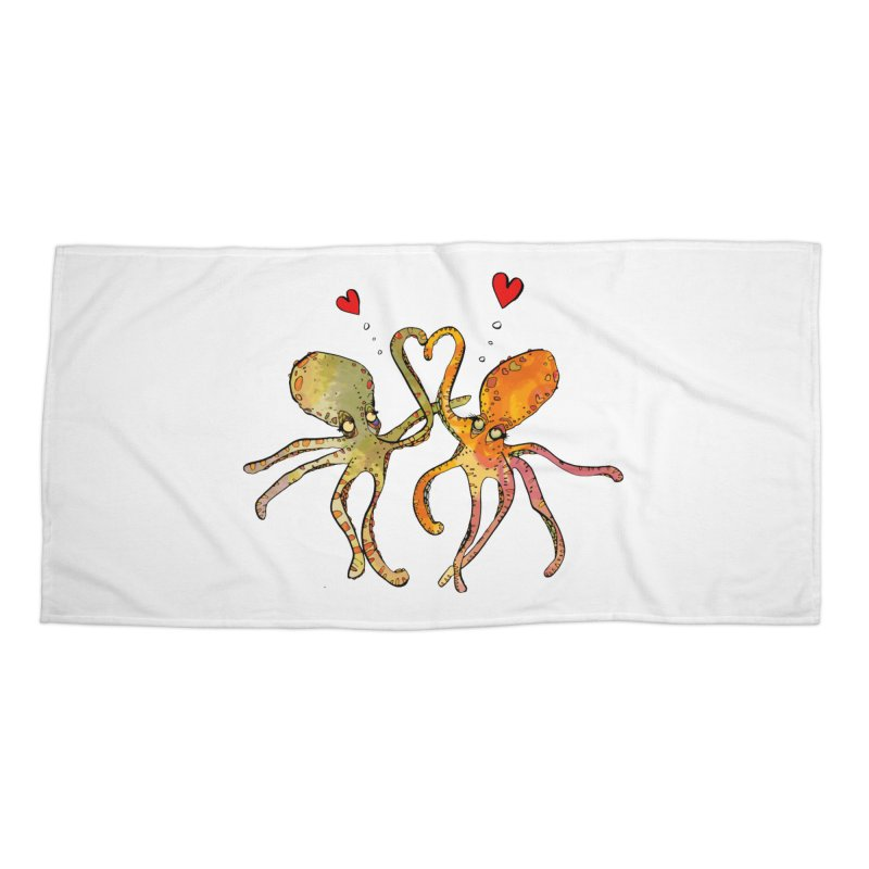 Underwater Love  Accessories Beach Towel by mandascats's Shop