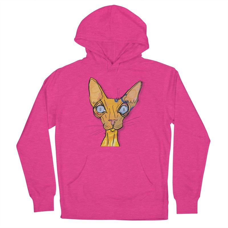 Sammy Cat  Women's Pullover Hoody by mandascats's Shop