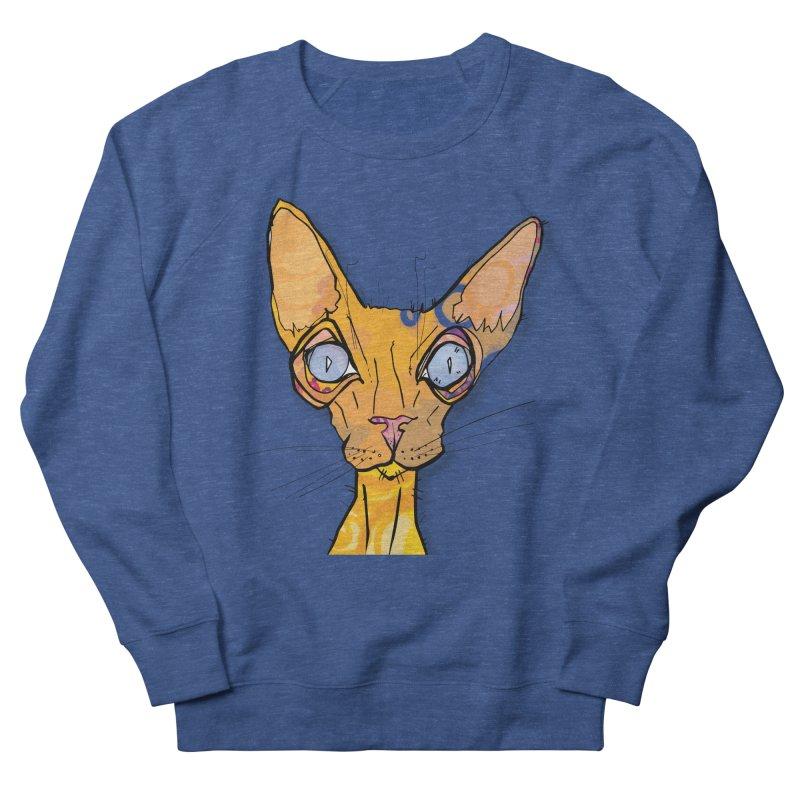 Sammy Cat  Men's Sweatshirt by mandascats's Shop