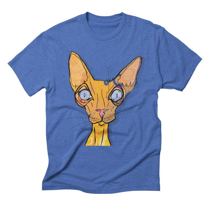 Sammy Cat  Men's T-Shirt by mandascats's Shop