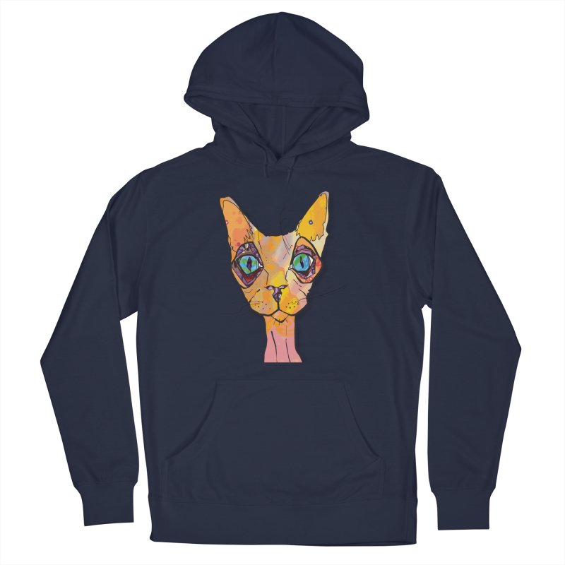 Stuwy Cat Men's Pullover Hoody by mandascats's Shop