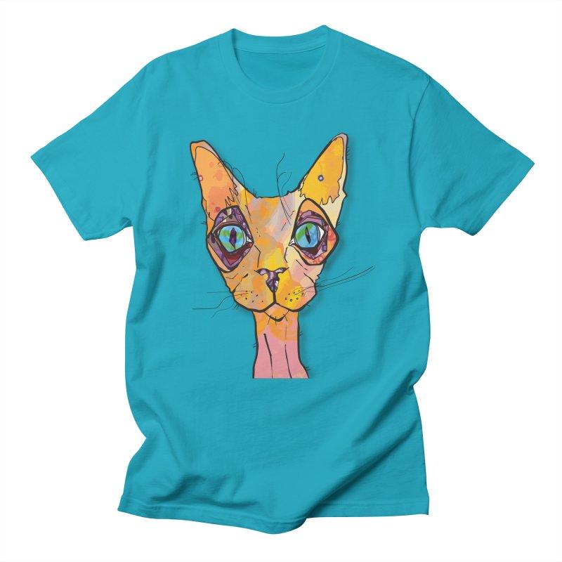 Stuwy Cat Men's T-Shirt by mandascats's Shop